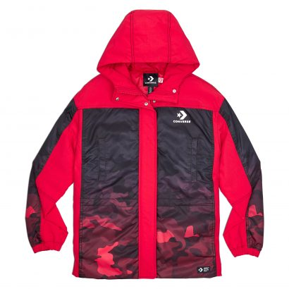 CONVERSE PADDED JACKET – ENAMEL RED