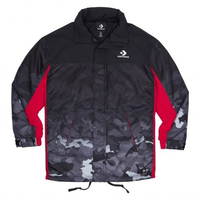CONVERSE INSULATED FIELD JACKET – BLACK CAMO