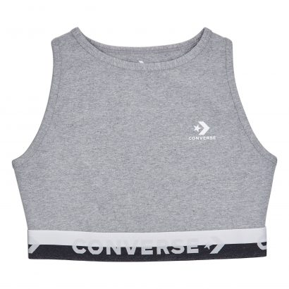 CONVERSE HIGH NECK BRA – VINTAGE GREY HEATHER