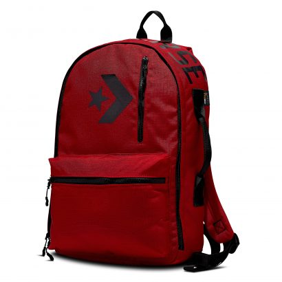 CORDURA STREET 22 BACKPACK – ENAMEL RED/BLACK