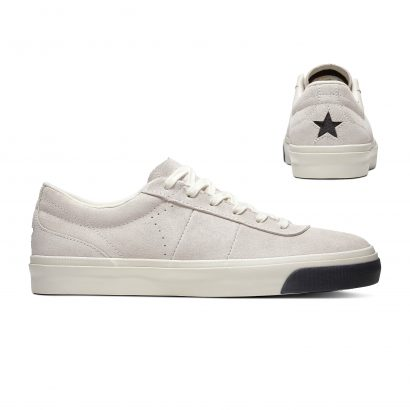 ONE STAR CC SUEDE – OX – EGRET/BLACK/BLACK