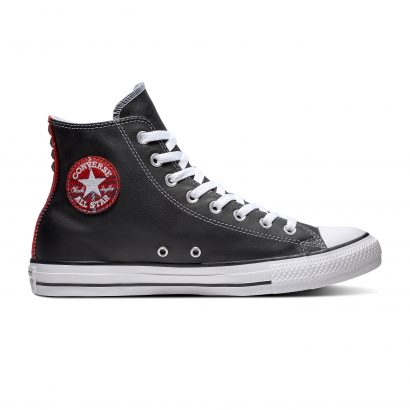 CHUCK TAYLOR ALL STAR METAL – HI – BLACK/RED/WHITE