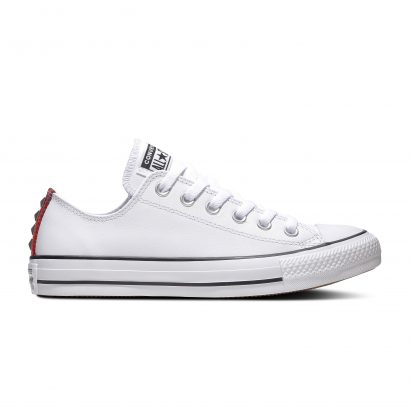 CHUCK TAYLOR ALL STAR METAL – OX – WHITE/RED/WHITE
