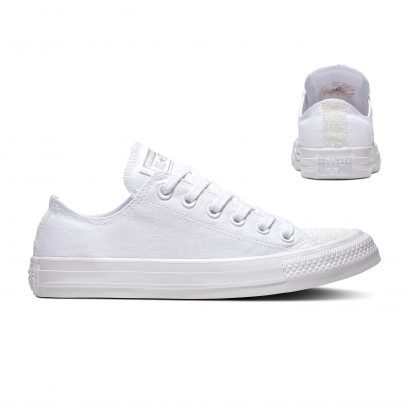 CHUCK TAYLOR ALL STAR SUGAR CHARMS – OX – WHITE/WHITE/SILVER