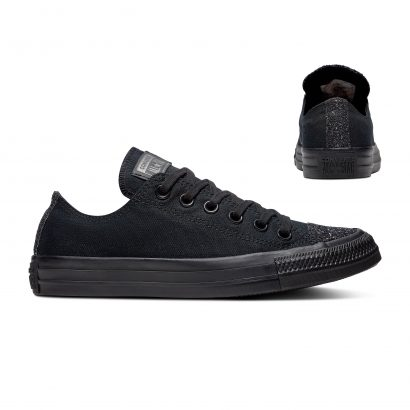 CHUCK TAYLOR ALL STAR SUGAR CHARMS – OX – BLACK/BLACK/SILVER