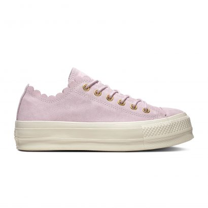 CHUCK TAYLOR ALL STAR FRILLY THRILLS – OX – PINK FOAM/GOLD/EGRET