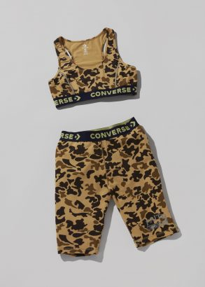 Converse x Faith Connexion Bra Top And Bike Shorts