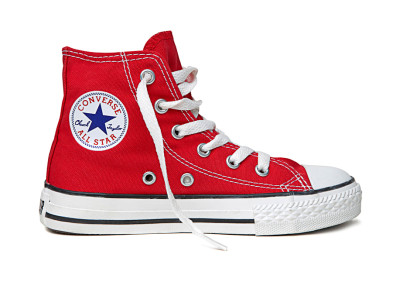 KIDS CTAS CORE HI RED