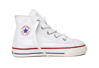 KIDS CTAS CORE HI OPTICAL WHITE