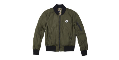 WOMEN CORE REVERSIBLE MA-1 BOMBER JACKET