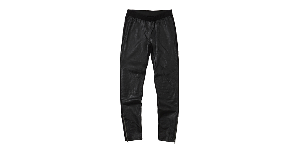 WOMEN PONTE PU LEGGING
