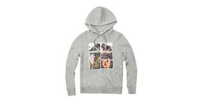 WOMEN PHOTO PULLOVER HOODIE