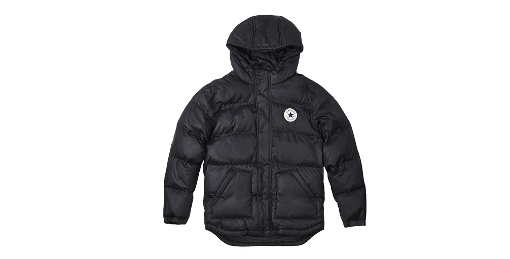 MEN CORE SHORT HOODED PUFFER