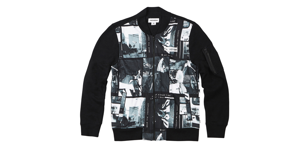MEN P+P BOMBER JACKET