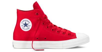CHUCK TAYLOR ALL STAR II HI RED