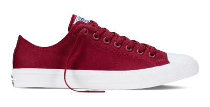 CHUCK TAYLOR ALL STAR II OX BURGUNDY