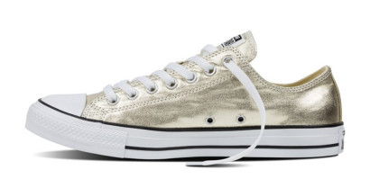 CHUCK TAYLOR ALL STAR METALLIC OX GOLD
