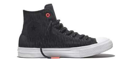 CHUCK TAYLOR ALL STAR II SHIELD CANVAS HI BLACK