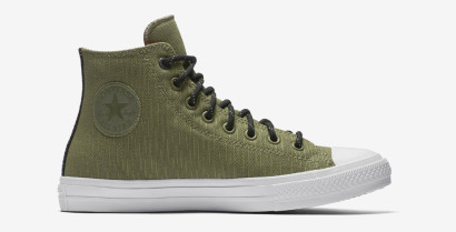 CHUCK TAYLOR ALL STAR II SHIELD CANVAS HI GREEN