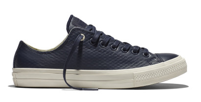 CHUCK TAYLOR ALL STAR II MESH BACKED LEATHER OX NAVY