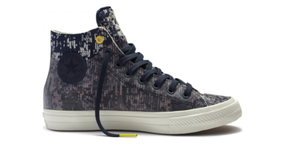 CHUCK TAYLOR ALL STAR II TRANSLUCETN RUBBER HI BLUE