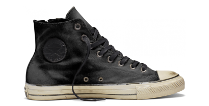 CHUCK TAYLOR ALL STAR SIDE ZIP HI BLACK