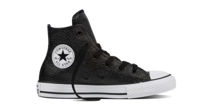 CHUCK TAYLOR ALL STAR METALLIC HI BLACK (YOUTH)