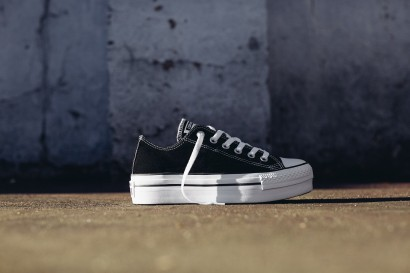 CHUCK TAYLOR ALL STAR PLATFORM OX BLACK