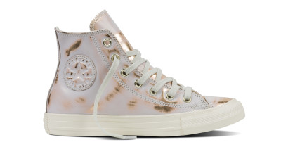 CHUCK TAYLOR ALL STAR BRUSH OFF LEATHER HI WHITE