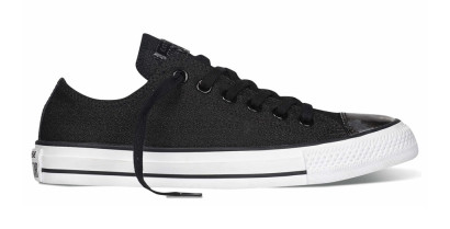 CHUCK TAYLOR ALL STAR BRUSH OFF TOECAP OX BLACK