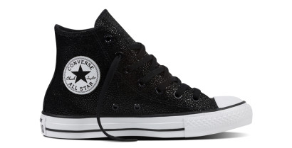 CHUCK TAYLOR ALL STAR STING RAY HI BLACK