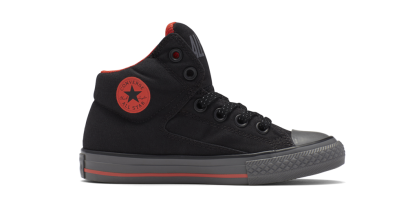 CHUCK TAYLOR ALL STAR HIGH STREET HI BLACK (JUNIOR)