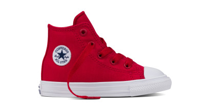 CHUCK TAYLOR ALL STAR II HI RED (INFANT)