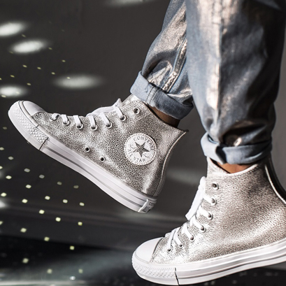 Chuck Taylor All Star Metallic Leather