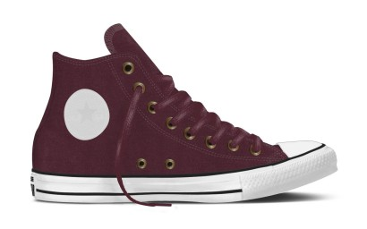 CHUCK TAYLOR ALL STAR COLOR SHIFT STRETCH TWILL HI BORDEAUX
