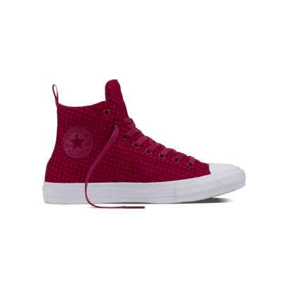 CHUCK TAYLOR ALL STAR II SHIELD + LYCRA HI RED