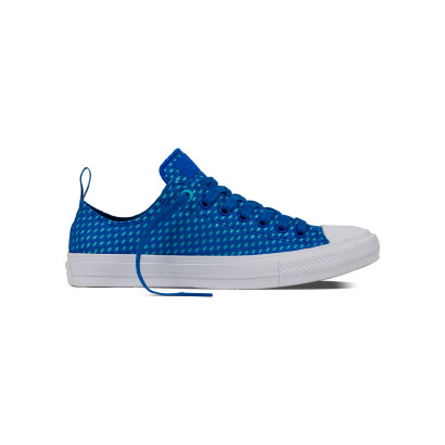 CHUCK TAYLOR ALL STAR II SHIELD + LYCRA OX BLUE
