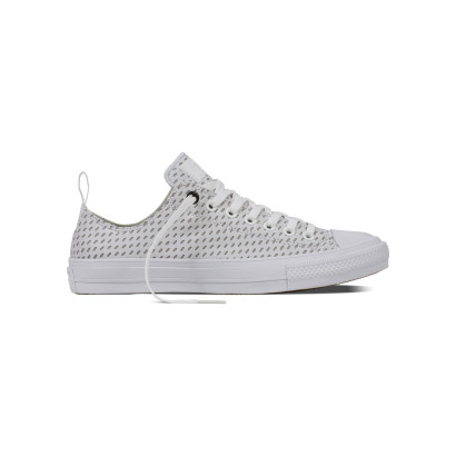CHUCK TAYLOR ALL STAR II SHIELD + LYCRA OX WHITE