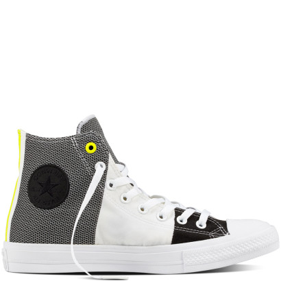 CHUCK TAYLOR ALL STAR II ENGINEERED WOVEN HI WHITE/BLACK