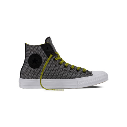CHUCK TAYLOR ALL STAR II BASKERWEAVE FUSE HI BLACK