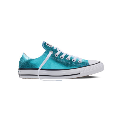 CHUCK TAYLOR ALL STAR SEASONAL METALLIC OX AQUA