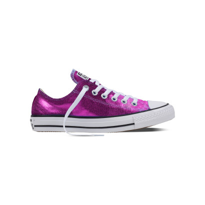 CHUCK TAYLOR ALL STAR SEASONAL METALLIC OX PURPLE