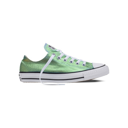 CHUCK TAYLOR ALL STAR SEASONAL METALLIC OX GREEN