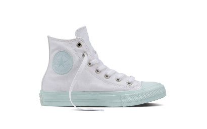 CHUCK TAYLOR ALL STAR II PASTEL HI WHITE/GREEN