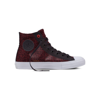 CHUCK TAYLOR ALL STAR II OPEN KNIT HI DARK CHARCOAL