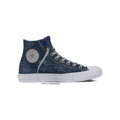CHUCK TAYLOR ALL STAR II OPEN KNIT HI BLUE