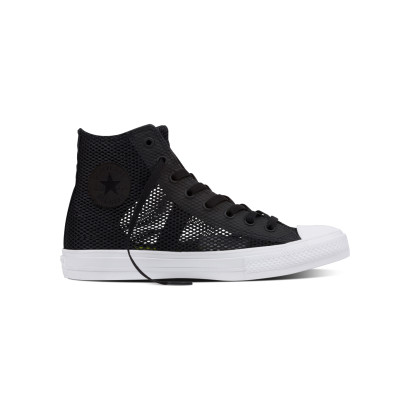 CHUCK TAYLOR ALL STAR II OPEN KNIT HI BLACK