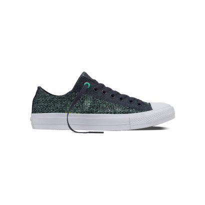 CHUCK TAYLOR ALL STAR II OPEN KNIT OX NAVY/BROWN