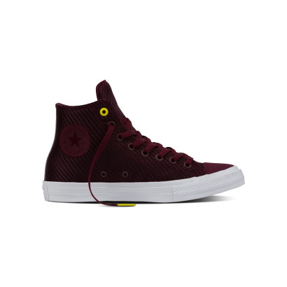 CHUCK TAYLOR ALL STAR II SPORTS BLOCKING HI BORDEAUX