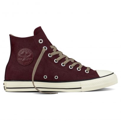 CTAS COATED LEATHER HI DARK SANGRIA
